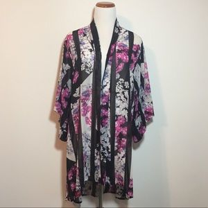 Zac & Rachel Floral Kimono